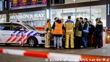 Niederlande Den Haag | Mehrere Verletzte bei Messerangriff in Grote Marktstraat