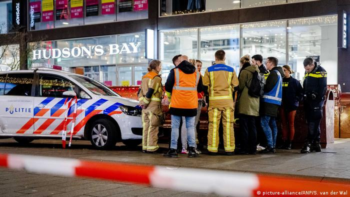 Netherlands Several Wounded In The Hague Stabbing Incident News Dw 29 11 2019