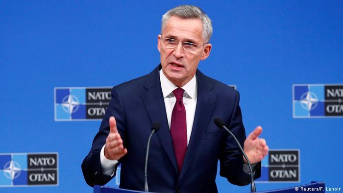 Brüssel PK Jens Stoltenberg NATO Generalsekretär