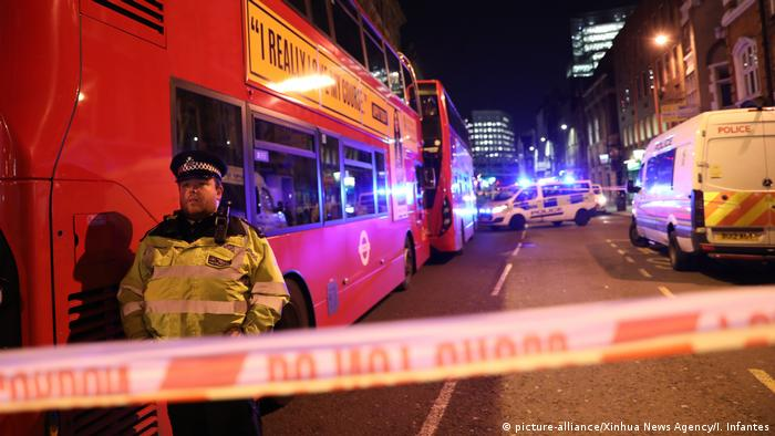 England Messerattacke in London (picture-alliance/Xinhua News Agency/I. Infantes)