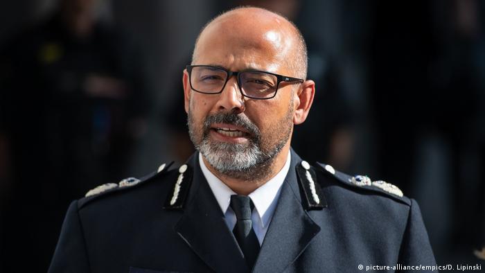 Neil Basu Chef der britischen Anti-Terror-Polizei (picture-alliance/empics/D. Lipinski)