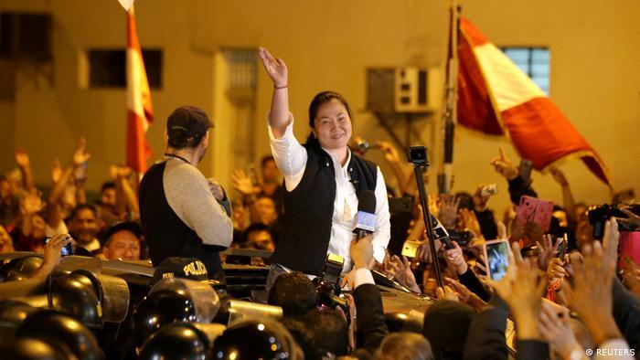 Peru Haftentlassung Oppositionsführerin Keiko Fujimori