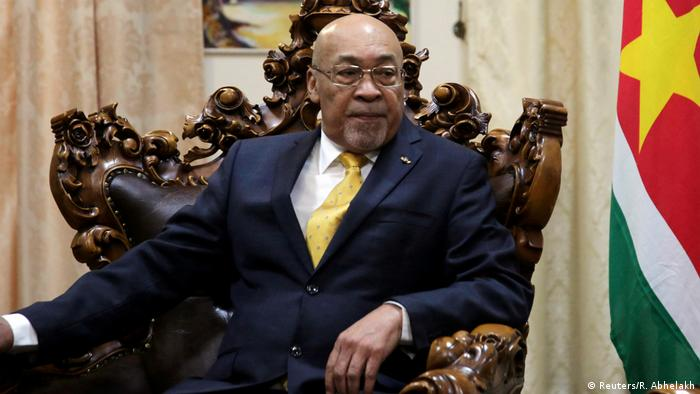 O presidente do Suriname, Dési Bouterse