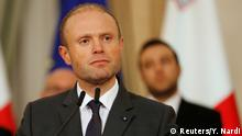 Malta Valetta Premierminister Joseph Muscat