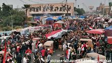 Irak Proteste gegen Regierung in Bagdad