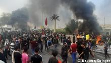 Irak Proteste gegen Regierung in Nasiriya