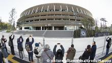 Japan neues Nationalstadion in Tokio
