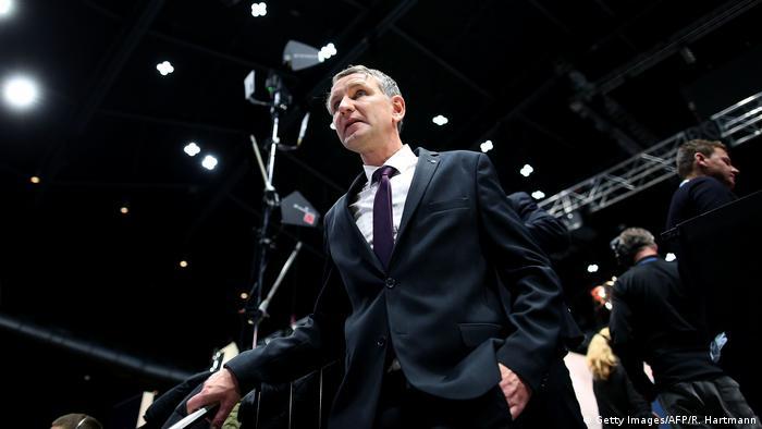 Deutschland Braunschweig AfD Bundesparteitag   Björn Höcke, Landesvorsitzender Thüringen