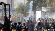 Irak Anti-Regierungsproteste & Ausschreitungen in Bagdad