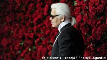 Karl Lagerfeld (picture-alliance/AP Photo/E. Agostini)