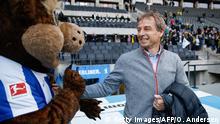 Fußball Bundesliga   Hertha BSC vs. Borussia Dortmund   Jürgen Klinsmann, Trainer