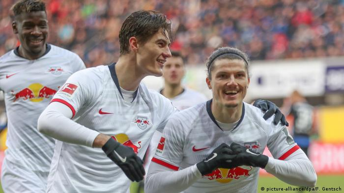 Patrik Schick and Marcel Schmelzer