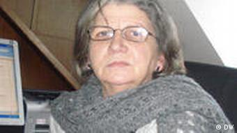Hamide Konjushevci Leiterin Statistisches Büro im Kosovo für Volkszählung