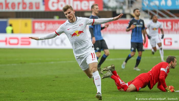 SC Paderborn 07 - RB Leipzig (picture-alliance/dpa/F. Gentsch)