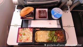 Комплексный обед в самолете