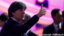 Rumänien Bukarest | Auslosung Fußball-EM 2020 | Deutschland, Bundestrainer Joachim Löw