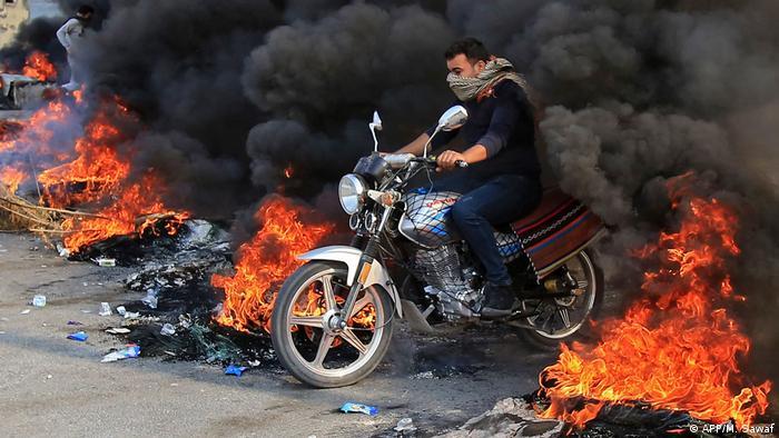 BdTD Irak Protest