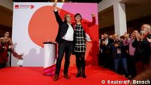 Deutschland Berlin SPD | Saskia Esken & Norbert Walter-Borjans, Sieger