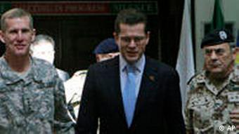 McChrystal, Guttenberg, Schneiderhan