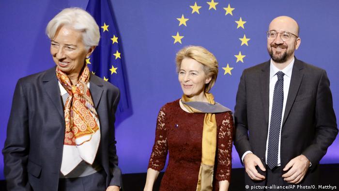 Neue EU-Kommissionspräsidentin Von der Leyen - Jubiläumsfeiern zum Amtsantritt