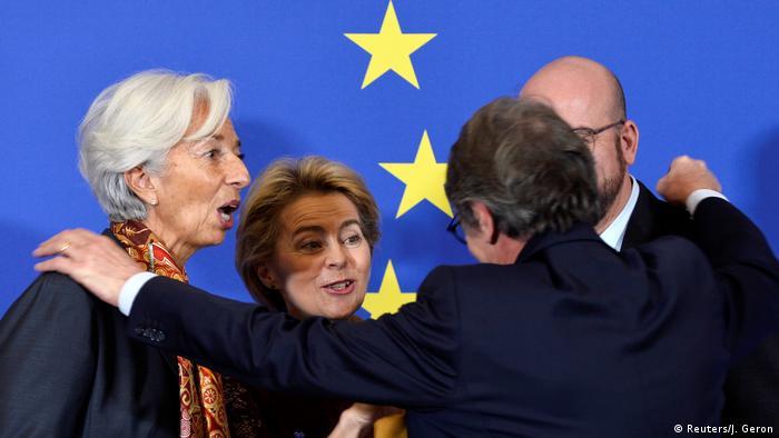 Neue EU-Kommissionspräsidentin Von der Leyen - Jubiläumsfeiern zum Amtsantritt (Reuters/J. Geron)