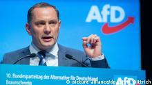 Braunschweig AfD-Bundesparteitag Tino Chrupalla