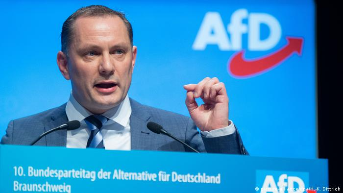 AfD leader Tino Chrupalla (picture-alliance/dpa/H.-K. Dittrich)