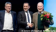AfD-Bundesparteitag | Jörg Meuthen, Tino Chrupalla und Alexander Gauland