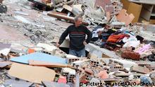 Albanien Durres nach den Erdbeben