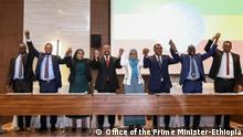 EPRDF members and ally parties signed to establish prosperity party Wo-Addis Abeba, Ethiopia Wann-01.12.2019 Author: Office of the Prime Minister-Ethiopia