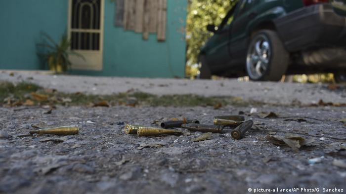 Mexiko Schießerei in Villa Union, Coahuila