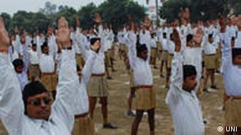 The RSS is thought to have between two and six million members