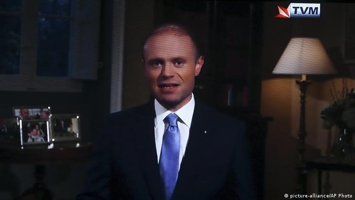 Malta Başbakanı Joseph Muscat, 1 Aralık'ta televizyondan halka seslenerek ocak ayında istifa edeceğini açıklamıştı.