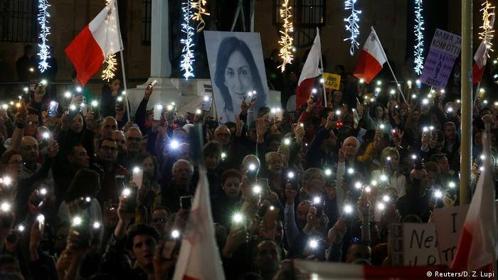 Malta demonstration