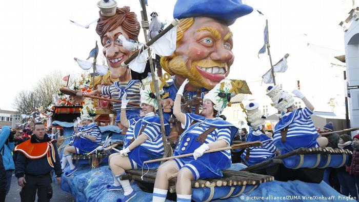 Карнавал в Алсте в 2018 году