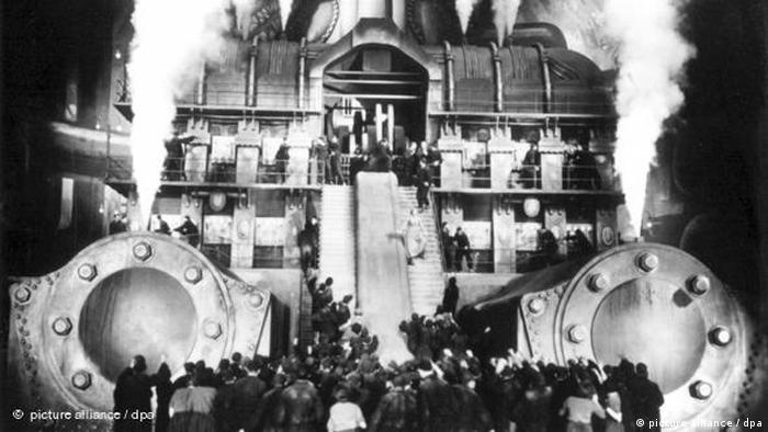 Stummfilm Metropolis von Fritz Lang Flash-Galerie