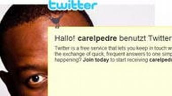 Screenshot Carel Pedre bei Twitter über Haiti