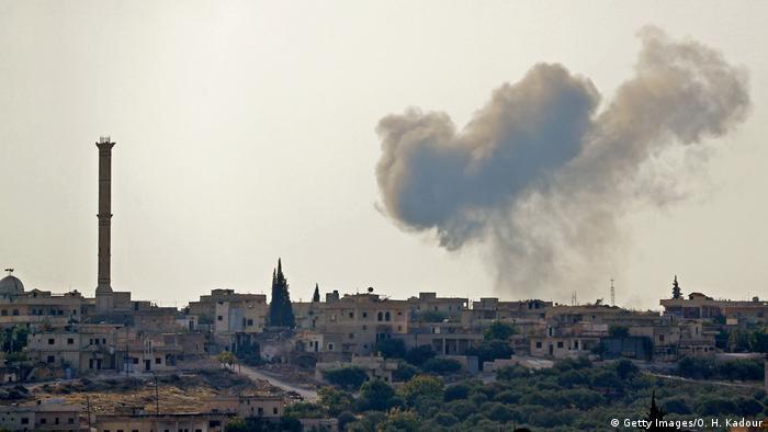 Syrien Konflikt l Zahlreiche Tote nach Kämpfen in Idlib (Getty Images/O. H. Kadour)