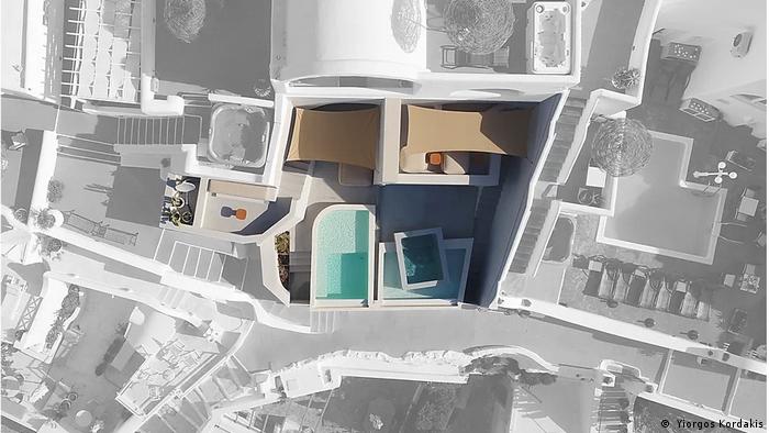 Euromaxx-Serie 360-Grad Open House Santorin