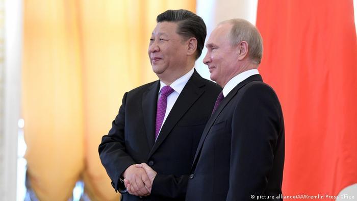 Putin i Xi