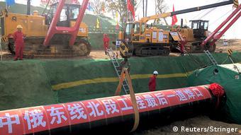 Russland China Gas-Pipeline l Kraft Sibiriens - Sila Sibiri
