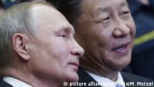 Russland China Gas-Pipeline l Kraft Sibiriens - Putin und Xi