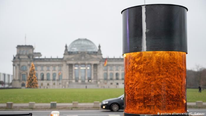Coluna da Resistência do coletivo Centro de Beleza Política, em Berlim
