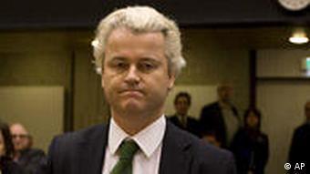 Dutch anti-Islam politician Geert Wilders