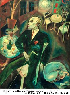 Жорж Грос. Страдающий от неразделенной любви, 1916