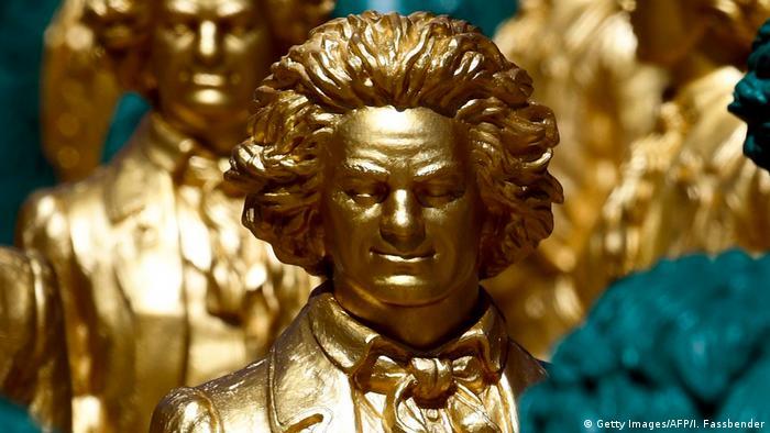 Улыбающиеся Бетховены в Бонне