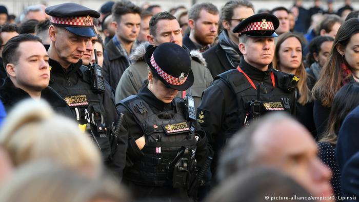 UK London nach Terrorattacke auf der London Bridge - Mahnwache