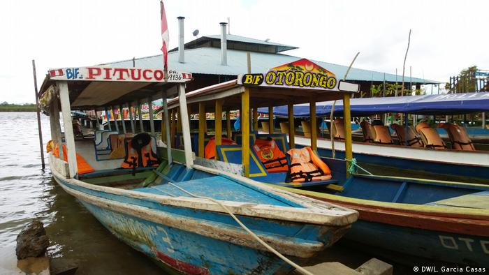 Peru | Santa Clara de Uchunya | Indigene | Tourismus (DW/L. Garcia Casas)