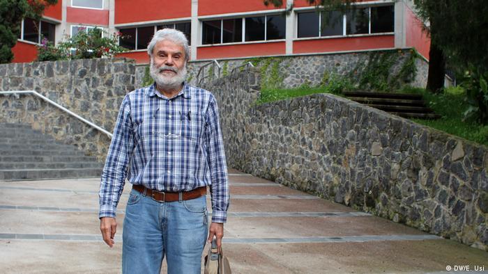 El académico Antonio Sarmiento Galán, del Instituto de Matemáticas de la UNAM.
