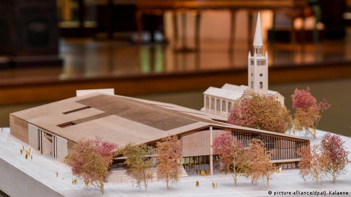 model Modern Art Museum (picture-alliance/dpa/J. Kalaene)